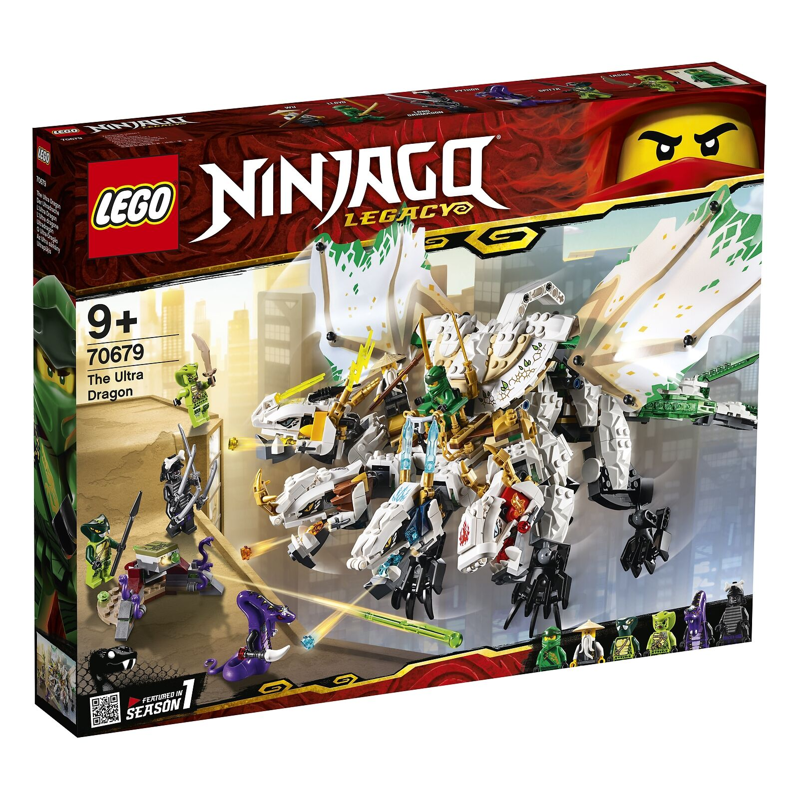 NEW LEGO 70679 70679 70679 Ninjago The Ultra Dragon 0890cb