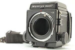 {MINT w/Strap} MAMIYA RB67 PRO S MF Camera Body + 120 Film Back JAPAN #276