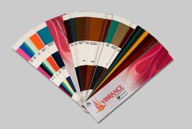 Ppg Vibrance Color Deck Dox442 Automotive Paint Chips Ebay