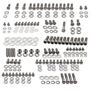 STAINLESS-HEX-BOLT-KIT-SMALL-BLOCK-for-CHEVY-SBC-265-305-307-327-350-400