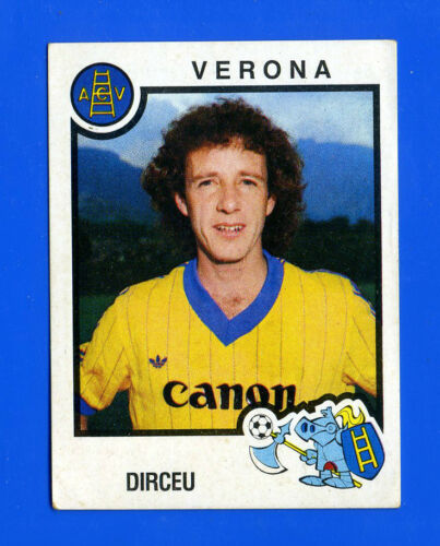 VERONA -New CALCIATORI PANINI 1982-83 Figurina-Sticker n 340 DIRCEU