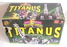 VINTAGE Zyuranger DX KING BRACHION Bandai MMPR Dino Megazord Titanus 1991 SEALED