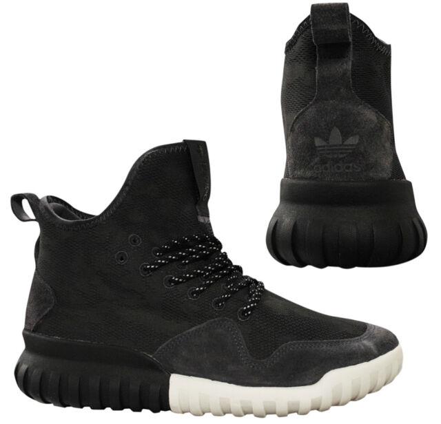 check out 6939e 5fdae Adidas Originals Tubular X UNCGD Mens Black Camo Lace Up Trainers BB8404 M3