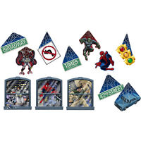 Spiderman Spider Heo Party Supplies Decorations Room Transformation Kit