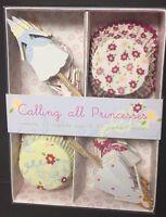 Meri Meri Calling All Princesses Cupcake + Topper Decoration Kit Girls Party