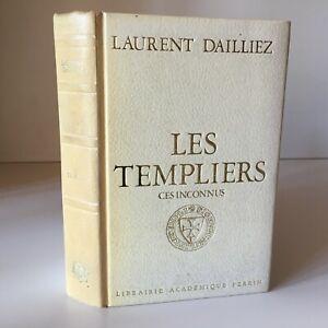 Envio-Laurent-Dailliez-Las-Templarios-Ces-Desconocido-Lib-Academico-Perrin-1972