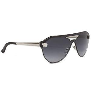 Versace VE2161 Sonnenbrille Silber 10008G 42mm P4MK4VVB5