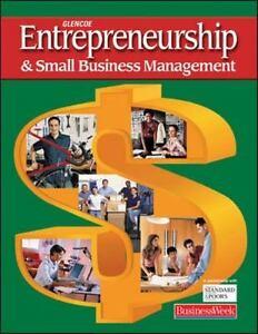 Entrepreneurship Small Business Management Pdf