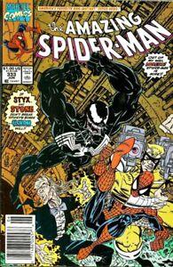 Amazing-Spider-Man-333-Fine-Vf-Marvel-comics-VENOM