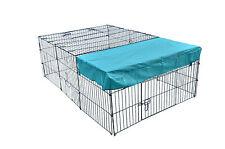 """New 72"""" x 48"""" Pet Playpen w/Door & Cover Rabbit Enclosure Dog Cat"""