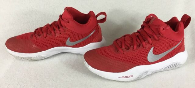 ae392b30e159 Nike Zoom Rev TB University Red Metallic Silver Shoes 922048-600 Men s Size  6.5