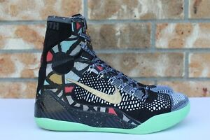 reputable site 04e11 81dbd Image is loading Men-039-s-Nike-Kobe-IX-9-Elite-