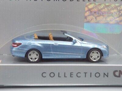 Herpa Germany HO 1:87 Mercedes Benz E Class Blue