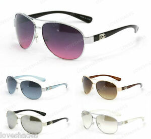 Image is loading New-DG-Eyewear-Fashion-Retro-Aviator-Designer-Sunglasses- df75f8b10