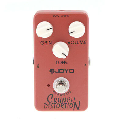 joyo jf 03 crunch distortion electric guitar effect pedal h2t5 759974644603 ebay. Black Bedroom Furniture Sets. Home Design Ideas