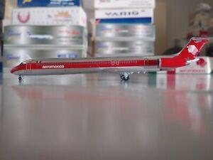 Jet-X Aeromexico McDonnell Douglas MD-82 1:400 XA-AMP JX588B RARE