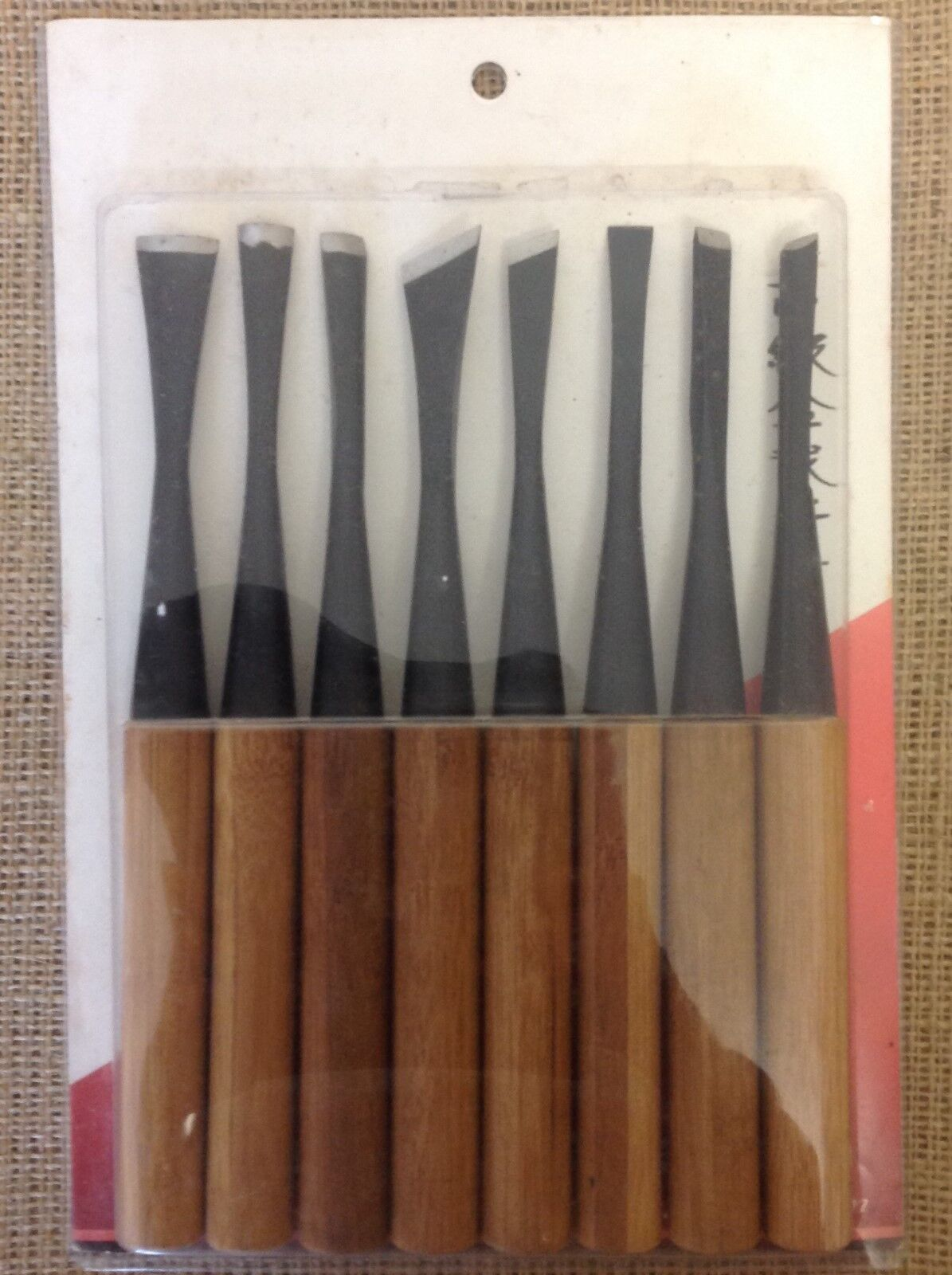 Ryuga Bonsai Tools Set Of 8 Bonsai Carving Tools 160mm