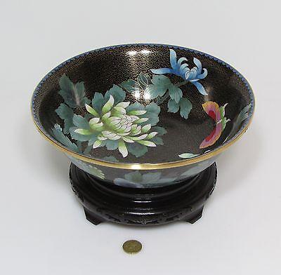 Other Asian Antiques Fine A Bowl Of Cloisonné Enamel
