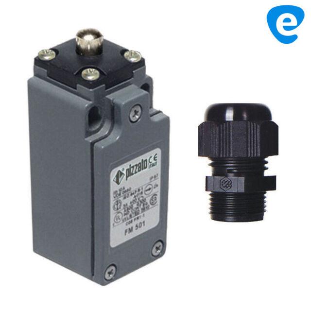 Interruptores de Límite Posición Botones Protección IP67 Pizzato Fm 501 M2
