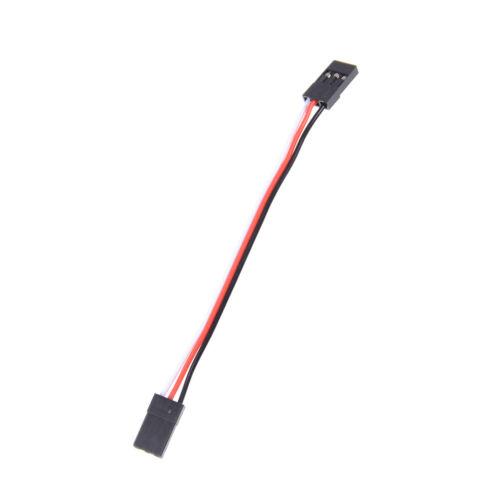 10ST 10cm 26AWG zu männlich JR Stecker Servo Verlängerung Blei Draht Kabel UUDE