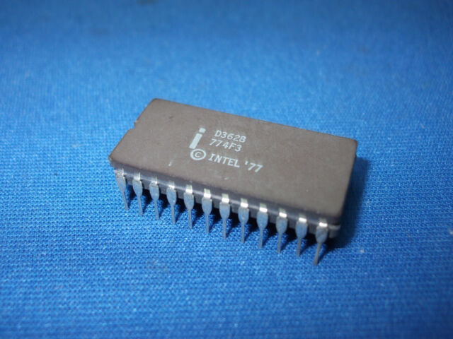D3628 INTEL D3628 PROM 24-PIN CERDIP RARE VINTAGE COLLECTIBLE LAST ONES
