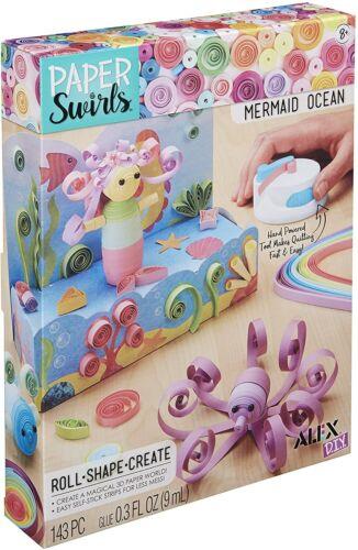 Alex DIY Paper Swirls 3D Mermaid Ocean Kids Art and Craft Activity