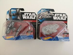 Star-Wars-The-Force-Awakens-Hot-Wheels-MOC-Millennium-Falcon-amp-Tie-Fighter