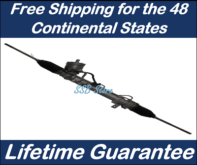 Complete Power Steering Rack and Pinion Assembly for DeVille Eldorado Seville