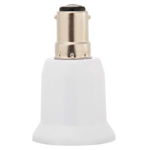 Rotary B15 to E27 Lamp Holder Adjustable LED Light Bulb Socket Base Adapter BEST