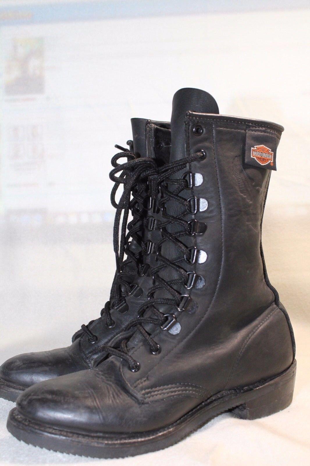 Harley Davidson Stiefel Stiefel  WinterStiefel Damen Leder Gr.38 passt auf Gr. 37