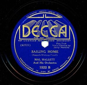 MAL-HALLETT-Orchestra-on-1937-Decca-1522-When-the-Organ-Played-O-Promise-Me
