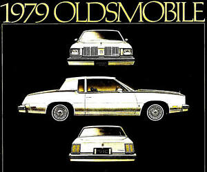 1979 Oldsmobile Body Manual 88 98 Cutlass Supreme Salon Calais Starfire Olds