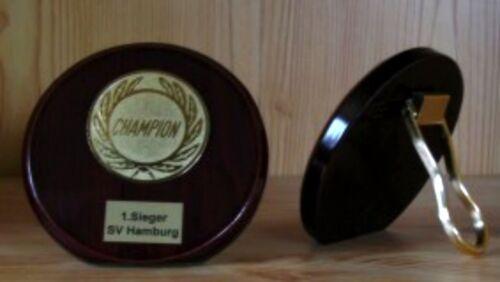 10 trophées mahagonilook 10 cm avec emblème #22 (Coupe médailles tournoi jeunesse) NEUF