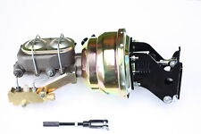 """1967-72 Chevy C10 Truck 8"""" Dual Power Brake Booster Kit Side Disc/Disc 781A3"""