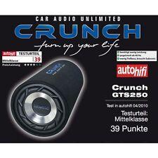 Crunch GTS-250 Crunch tubo subwoofer GTS250 tubo subwoofer 250 Watt RMS 25 cm