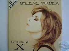 MYLENE FARMER L'INSTANT X CD SINGLE #2 AVEC HERB RITTS