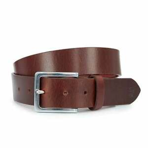 FARAH-VINTAGE-034-LANGER-034-CLASSIC-LEATHER-BELT-BROWN-NEW-MOD-SKINHEAD-CASUAL