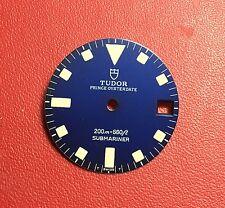 Dial for Tudor Prince Oysterdate submariner200m/ 666ft ref: 9411 deep matte blue