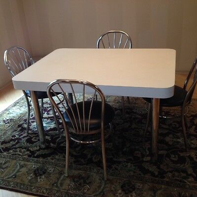 Formica Table And 4 Chairs Reduced For Quick Sale Ebay