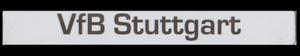 Magnet-Button - VfB Stuttgart Text