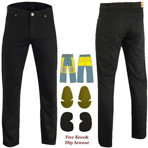 Mens-Motorcycle-Jeans-Reinforced-Jeans-Made-With-DuPont-Kevlar-Fiber-Black-AUS
