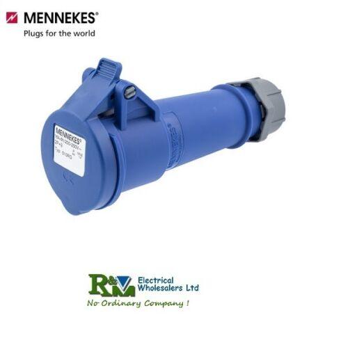 Mennekes 240v 3pin bouchons industriels et les prises 16A et 32A IP44 et IP67