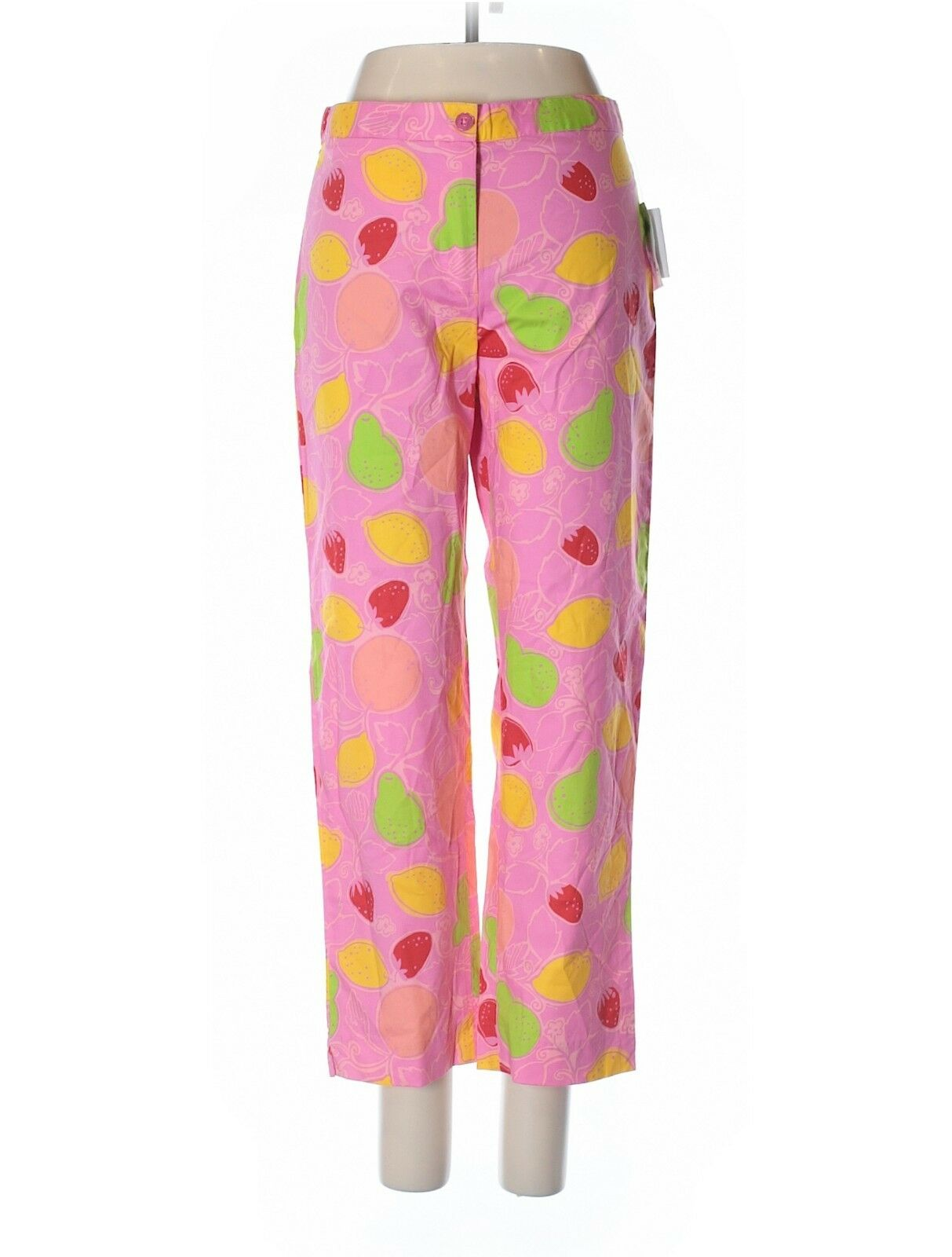 Brand New NWT Lilly Pulitzer Pink Fruit Pants Retail  155