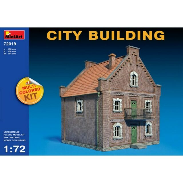 MINIART MIN72019 CITY BUILDING KIT 1:72 MODELLINO MODEL compatibile con