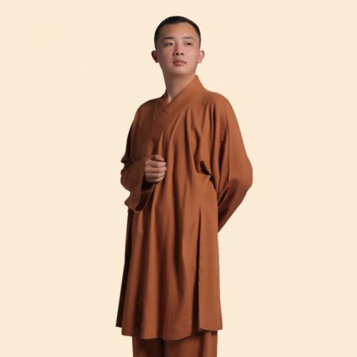 Rohan hot Chinese Shaolin monk robe clothing uniforms Takenori Linen