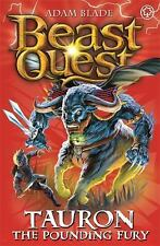 Beast Quest: Tauron : The Pounding Fury 66 by Adam Blade (2014, Paperback)