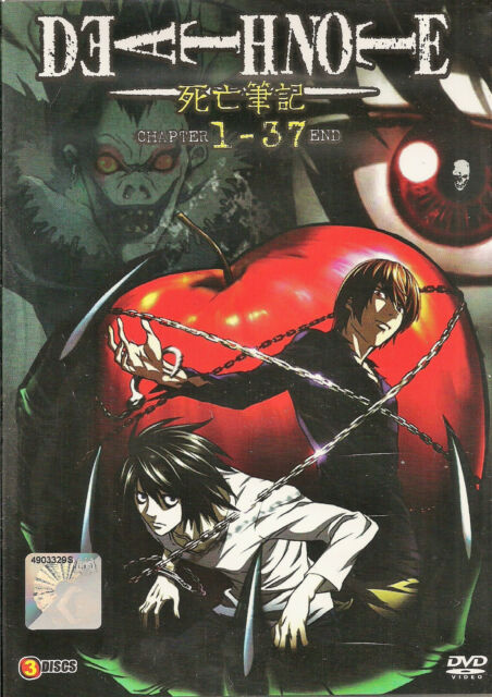 Death Note The Complete Anime Series Episode 1 - 37 DVD Box English Dubbed