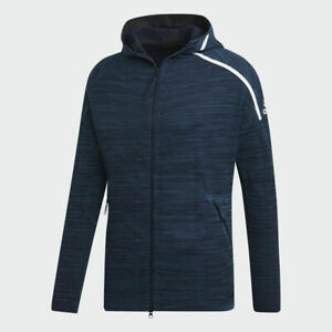 Adidas-Men-039-s-Z-N-E-Parley-Full-Zip-Hoodie-Retail-180-Size-XS-amp-2XL