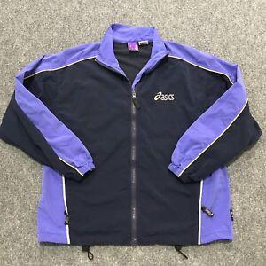 6212db56c7e3 Image is loading Vintage-Asics-90s-Windbreaker-Jacket-Women-039-s-