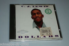 C.J. LEWIS DOLLARS CD 1994 MIT CHILL 'N' COOL OUT - BEST OF MY LOVE - TWO TIMER